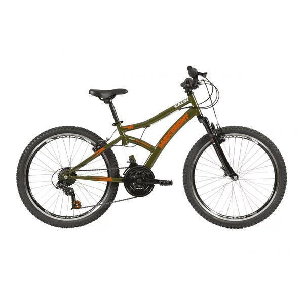 BICICLETA CALOI MAX FRONT- ARO 24 - 21V - VERDE