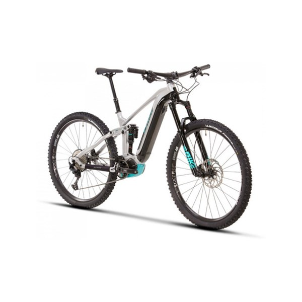 BICICLETA ELETRICA SENSE IMPULSE E-TRAIL EVO 2021 - ALUMINIO/AQUA - TAMANHO S