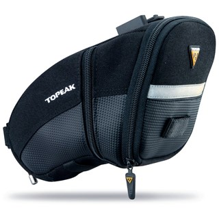 BOLSA SELIM BIKE TOPEAK AERO WEDGE PACK QUICK CLICK M PRETA