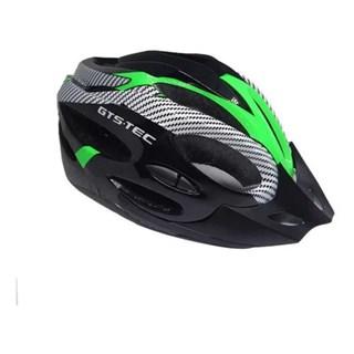 CAPACETE GTS-TEC LED -  PRETO/VERDE